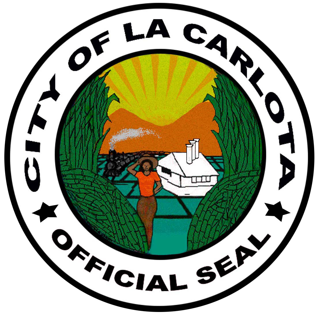 CITY OF LA CARLOTA Official Logo